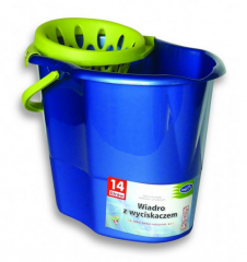 Plastic oval buckets