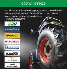 Opony do maszyn i techniki rolniczej