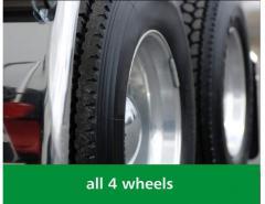 Opony samochodowe do lekkich ciężarówek i samochodów dostawczych