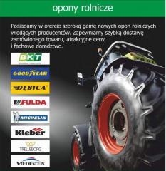 Opony do traktorów, opony rolnicze