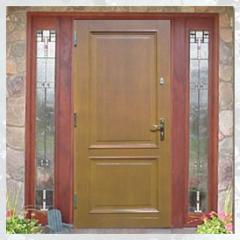 Drzwi zewnętrzne drewniane typ 55