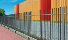System ogrodzeń przemysłowych zabezpieczone przed