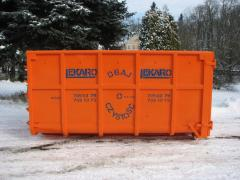 Euro containers for garbage