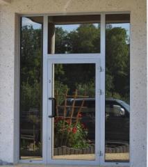 Drzwi aluminiowe, drzwi zewnętrzne, drzwi wejściowe, drzwi szklane