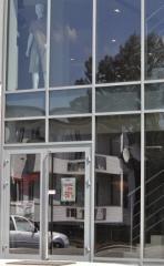 Witryny,fasada, fasady aluminiowe, stolarka aluminiowa