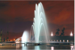 Fountains for streets