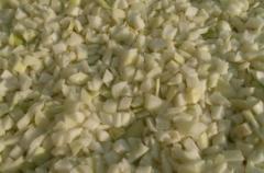Frozen onions