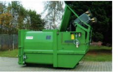Equipment for recycling of production waste
