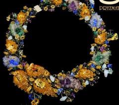 Naszyjniki z kolorowych koralików - Naszyjnik