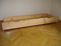 Szuflada pod łóżko 150cm sosna olcha dąb orzech