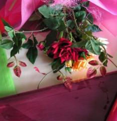 Floristic organza