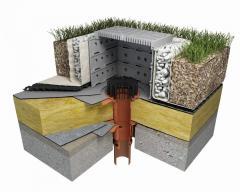 Odwodnienie płaskich dachów - Wpusty dachowe