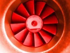 Turbines for farming machines