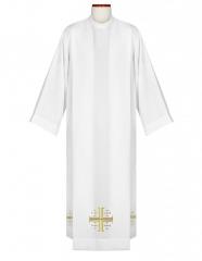 Alba kapłańska z haftem