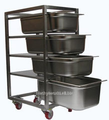 Trolleys for pastry