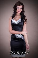 Suknia / sukienka  młodzieżowa  nr 101 - mała