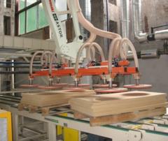 Roboty do automatyczneho paletowania  gotowych