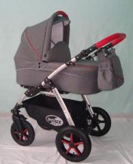 Wózek dziecięcy GRANDIS ALU LEN