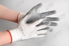 Rękawice robocze ochronne.