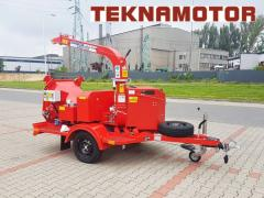 Mobile chipper Skorpion 120 SD - Teknamotor.