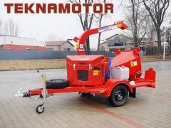 Déchiqueteuse mobile Skorpion 120 S - Teknamotor.