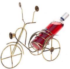 Stojak na wino , metaloplastyka , stojak na wino w