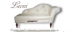 Ekskluzywna sofa Leoni