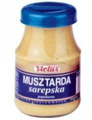 Musztarda sarepska , musztarda , sosy , przyprawy