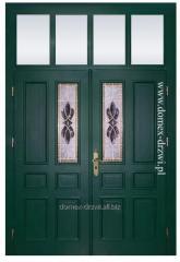 """Drzwi zewnętrzne sosnowe """"Sisi"""""""