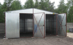 Galvanized Garages