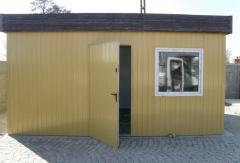 Konstrukcje stalowe, pawilony biurowe metalowe,