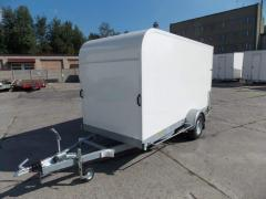 Box body trailers