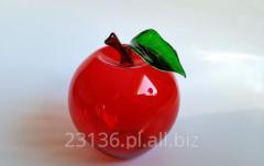 Jabłko ze szkła