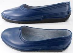 Footwear molded PVC