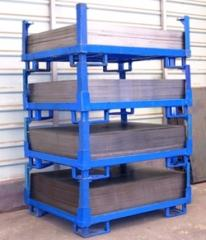 Cargo metallic pallets and pans