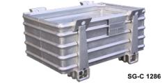 Containers, metal, for high loads type
