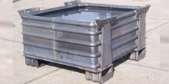 Ciężkie szczelne pojemniki metalowe typ VW 0001/