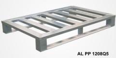 Алюминиевые поддоны на полозъях