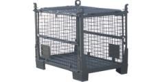 Pojemnik siatkowy metalowy składany typ KSS dla