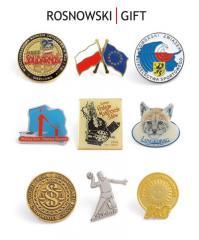 Znaczki metalowe PINSY