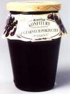 Konfitury z czarnej porzeczki, słoik 280 g