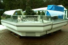 Lada chłodnicza narożnikowa , używana lada na