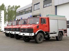 Unimog wersja strażacka