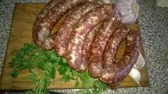 Home sausage jerked