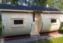 Sauny drewniane
