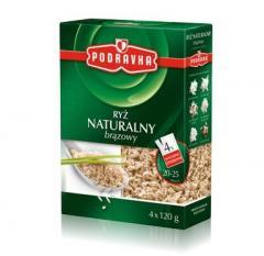 Ryż naturalny brązowy , ryż brązowy Podravka