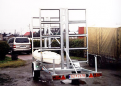 Trailers for the transportation of boats and