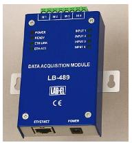 Termometr internetowy LB-489 - Moduł zbierania