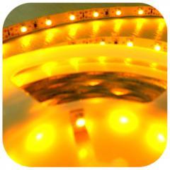 Taśma LED - ŻÓŁTA - 12V 24W SMD3528