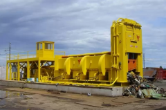 Equipment for the processing of scrap metal